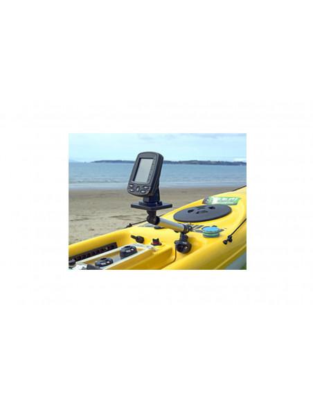 RailBlaza SidePort for kayaks in black