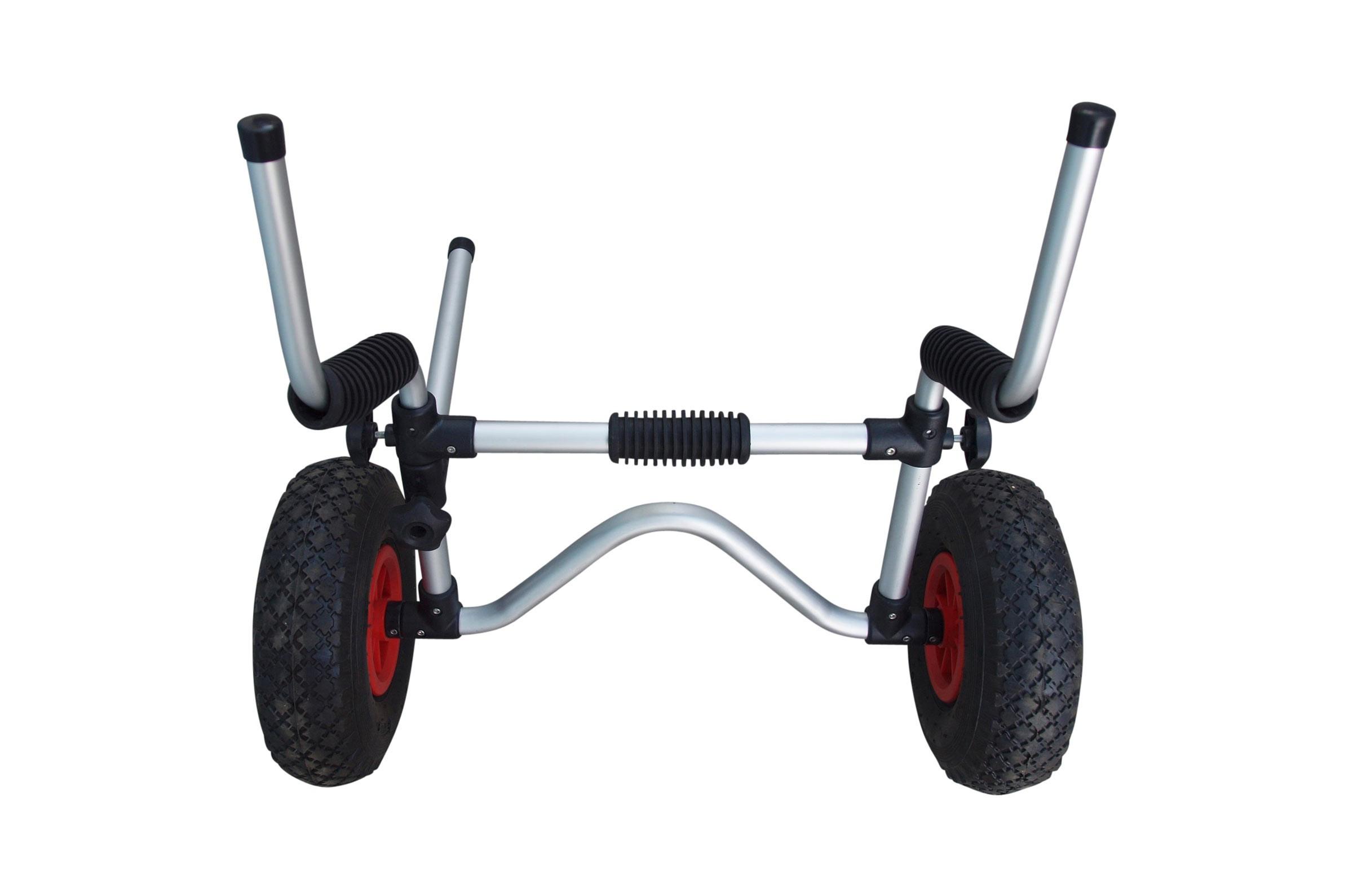 Carrello per kayak con Supporti per Autosvuotanti