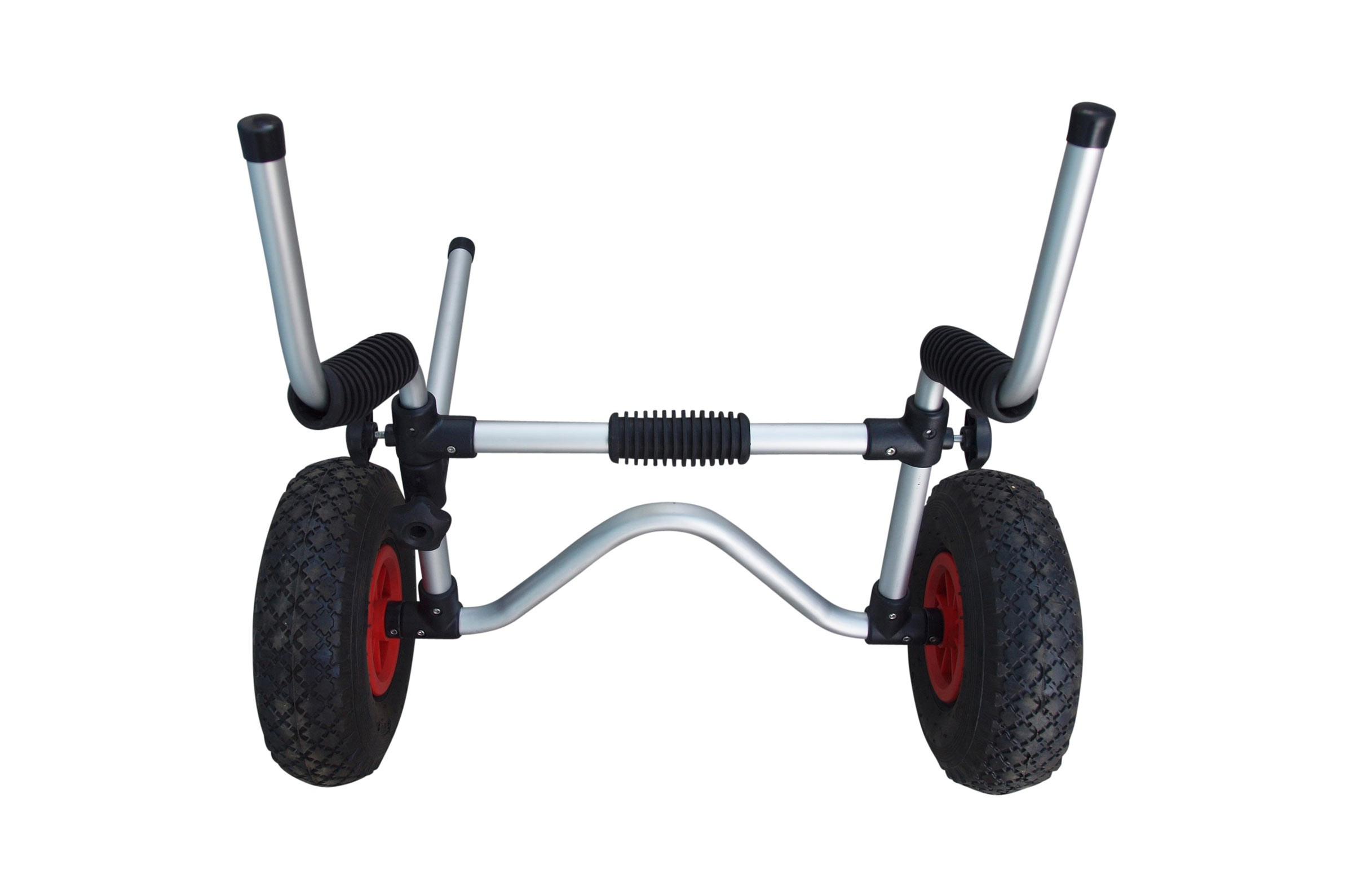 Kayak Trolley with scupper supports
