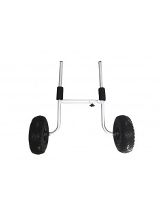 H trolley for Kayaks with scupper supports