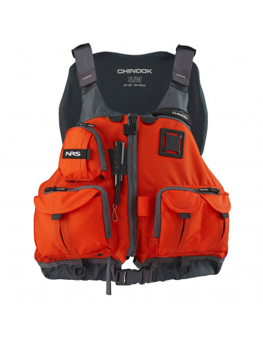 NRS Chinook Fishing Life Jacket - CE/ISO Approved
