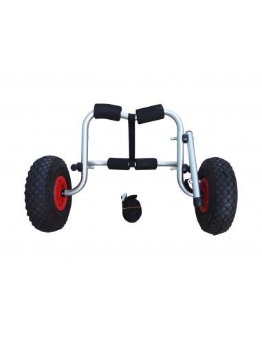 Carrello per kayak con strap