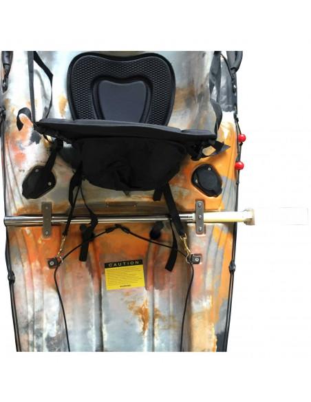Kayak electric motor mount