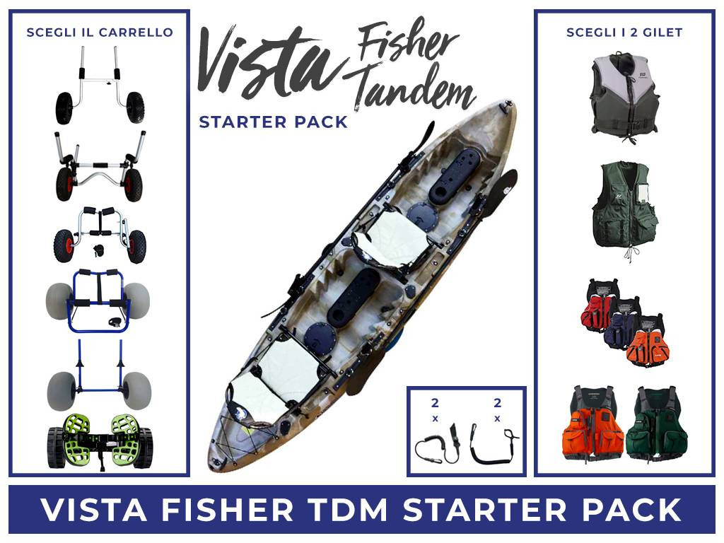 Vista Fisher Tandem Starter Pack
