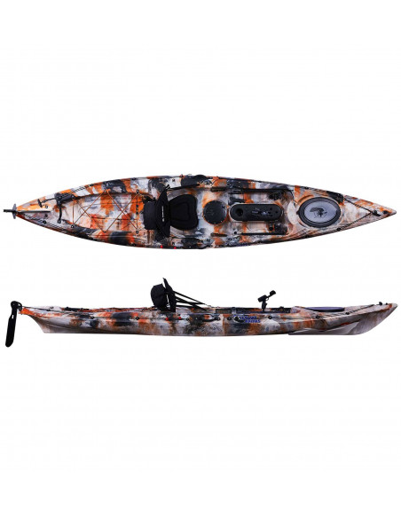 Galaxy Kayaks Alborán fishing kayak