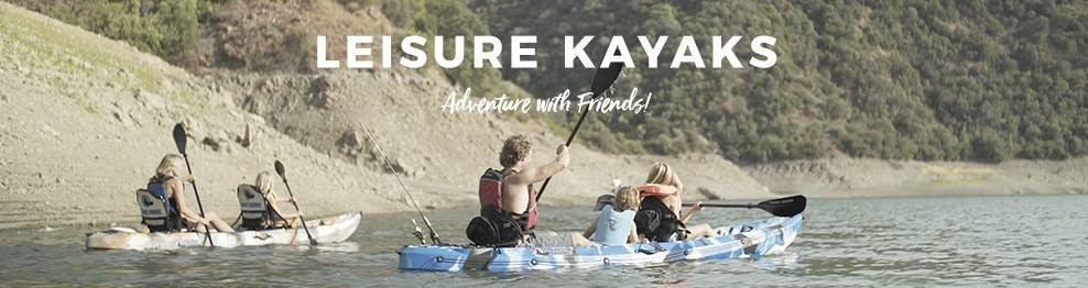 Leisure Kayaks | For Your Next Adventure!
